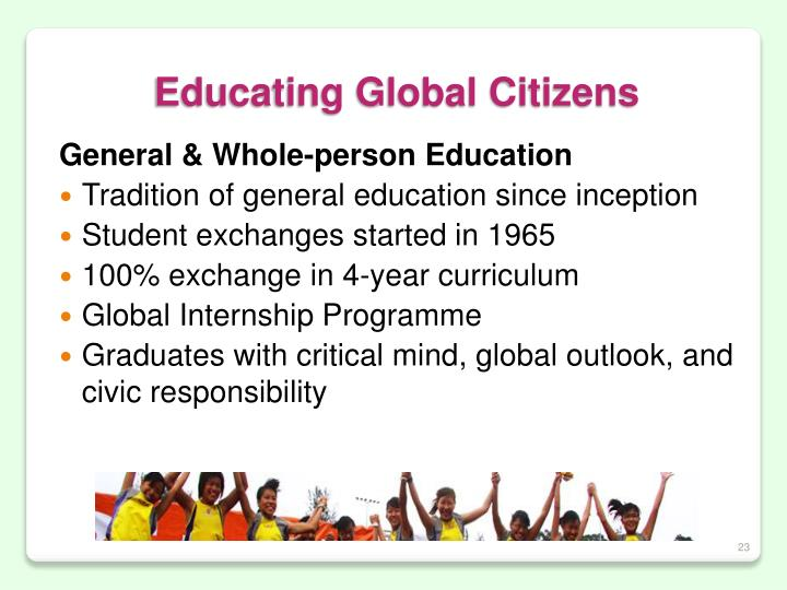 Educating Global Citizens