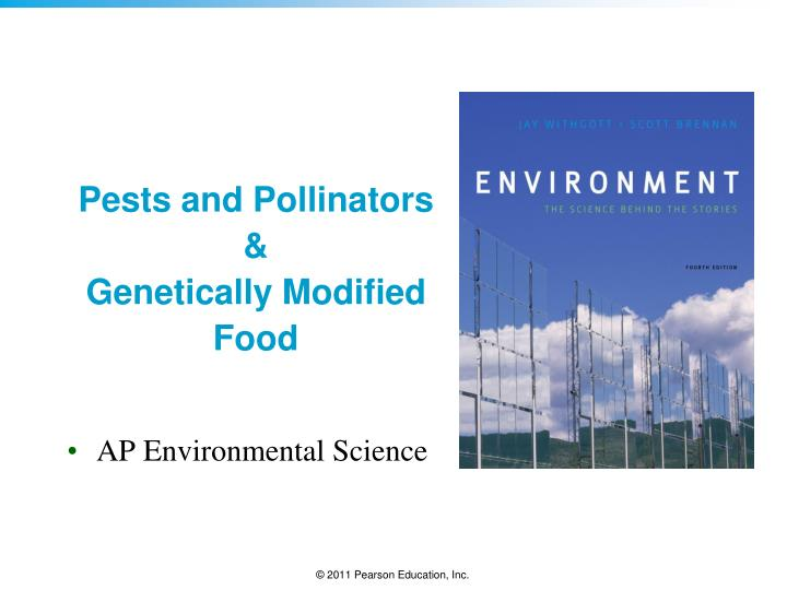 pests and pollinators genetically modified food n.