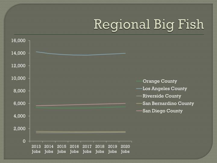 Regional Big Fish