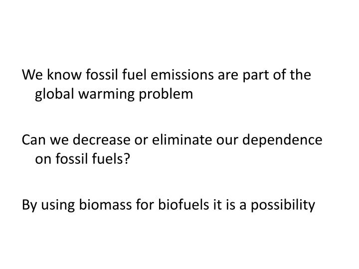 mans dependence on fussil fuels Essay fossil fuels introduction fossil fuels are the most important energy sources in our world today the overwhelming majority of the huge amount of energy used in the world comes from the burning of three major fossil fuels: coal, petroleum, and natural gas.