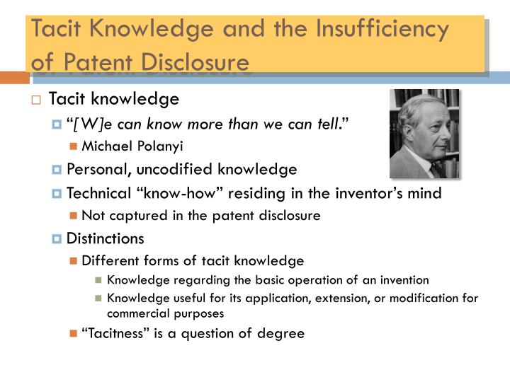 transfer of tacit knowledge The exact extent to which it systems can aid in the transfer and enhancement of tacit knowledge is a rather complicated discussion for now, suffice it to say that successful km initiatives must place a very strong emphasis on the tacit dimension, focusing on the people and processes involved, and using it in a supporting role.