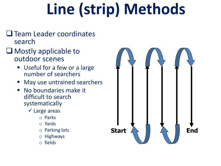 Line (strip) Methods
