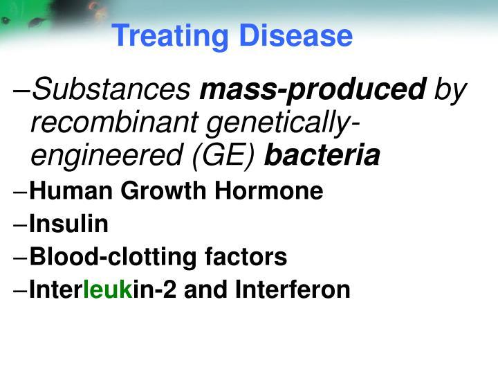 Treating Disease