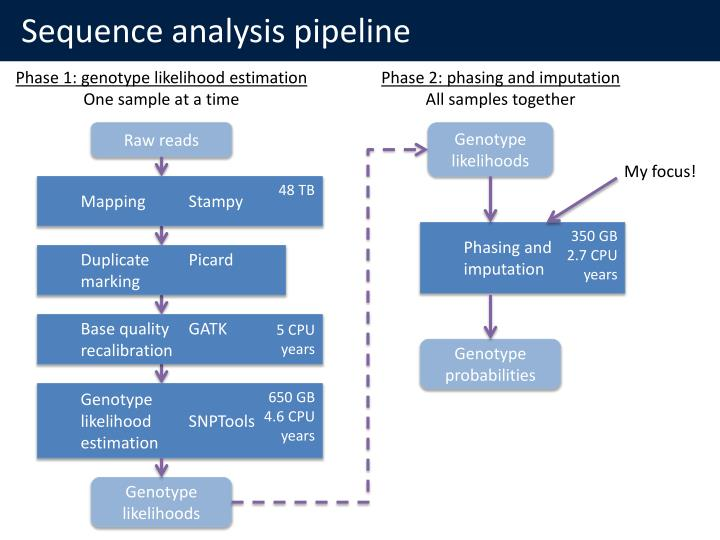 Sequence analysis pipeline