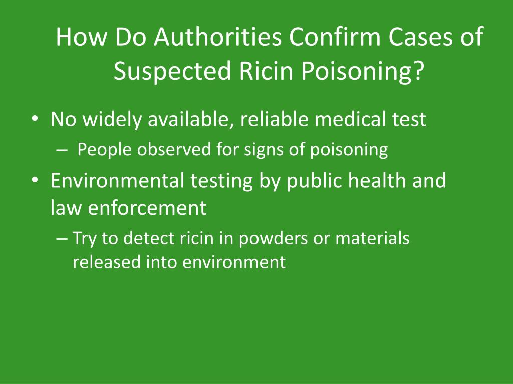Ppt Ricin Powerpoint Presentation Free Download Id 1605357