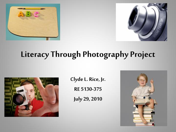 literacy through photography project n.