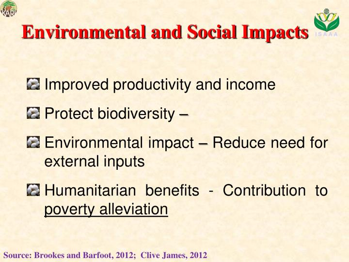 Environmental and Social Impacts