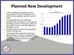 planned new development