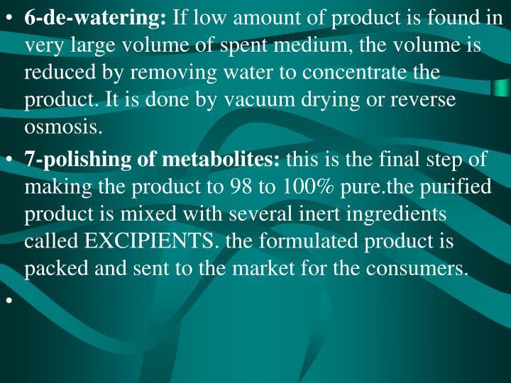 6-de-watering: