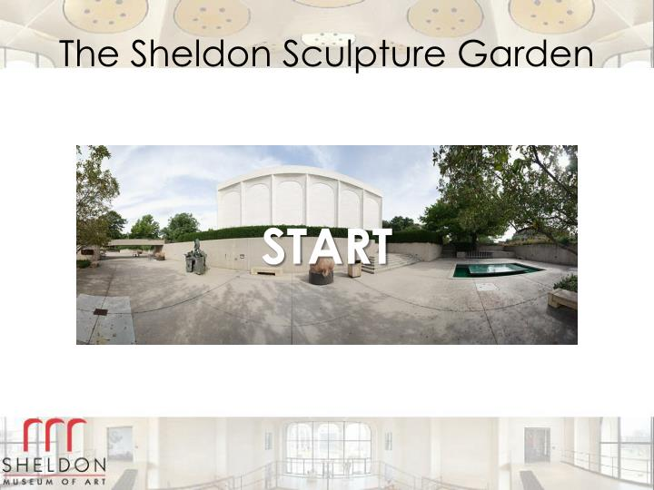 the sheldon sculpture garden n.