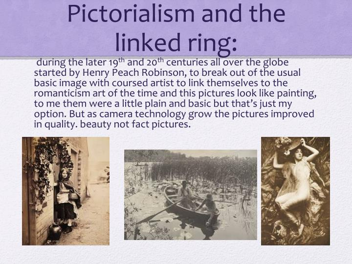 Pictorialism and the linked