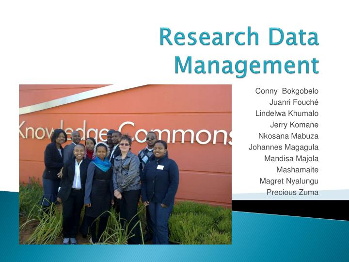 research data management n.