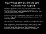new waves of the mind and soul nationally non aligned
