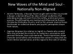 new waves of the mind and soul nationally non aligned1