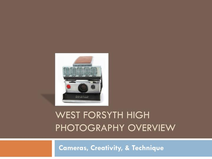 west forsyth high photography overview n.