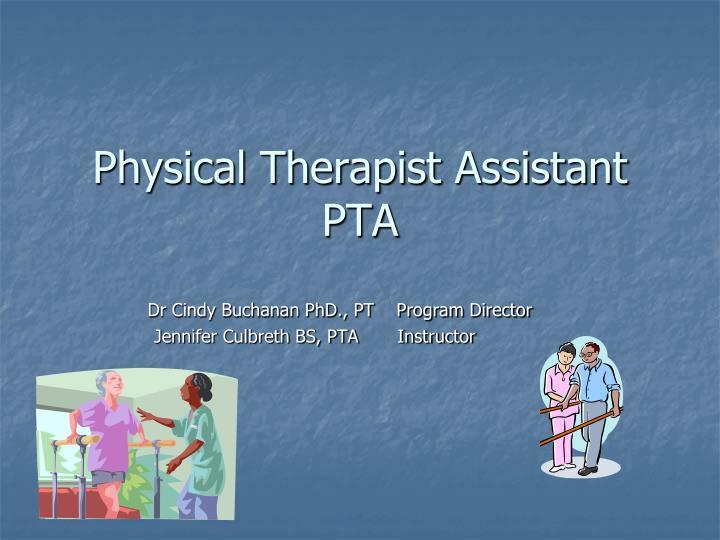 Dr Cindy Buchanan PhD., PT    Program Director