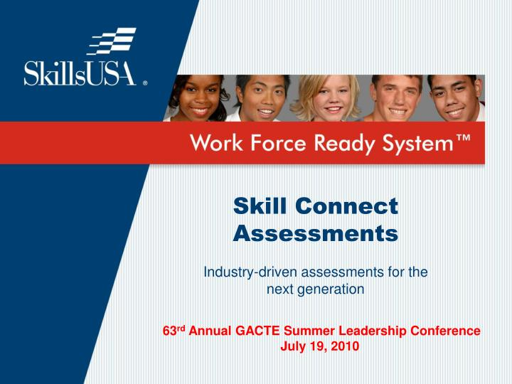 skill connect assessments n.