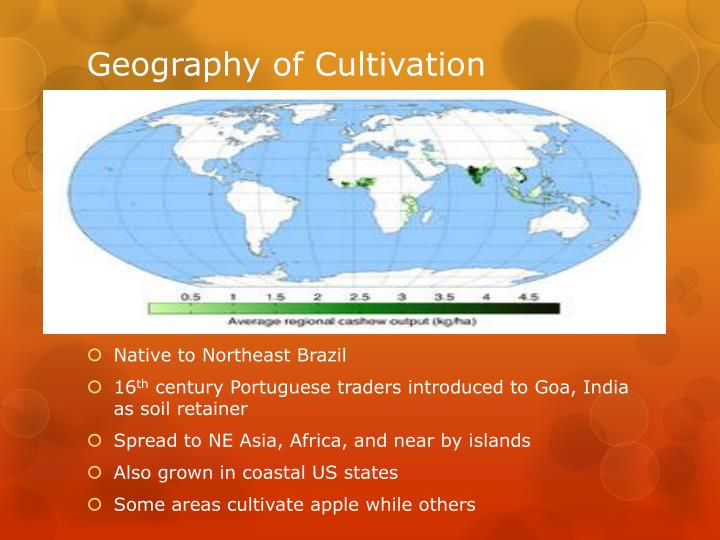 Geography of Cultivation