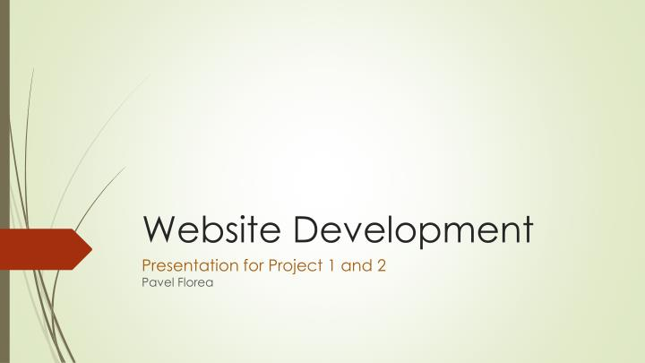 website development n.