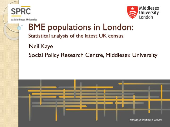 bme populations in london statistical analysis of the latest uk census n.