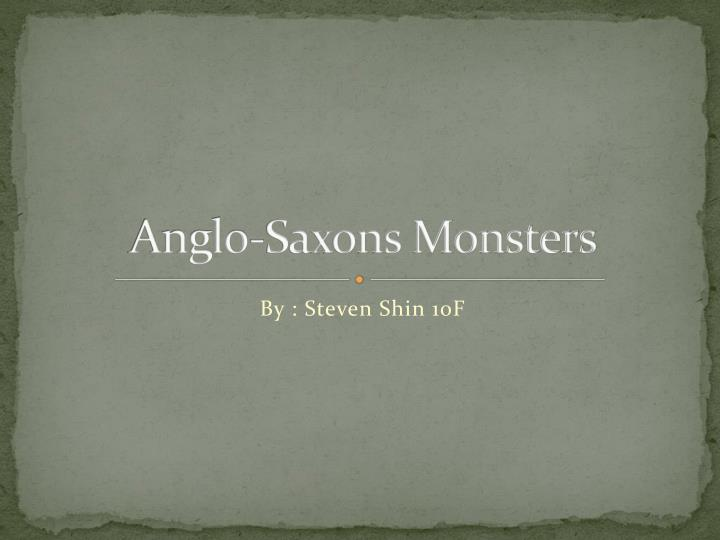 Anglo saxons monsters