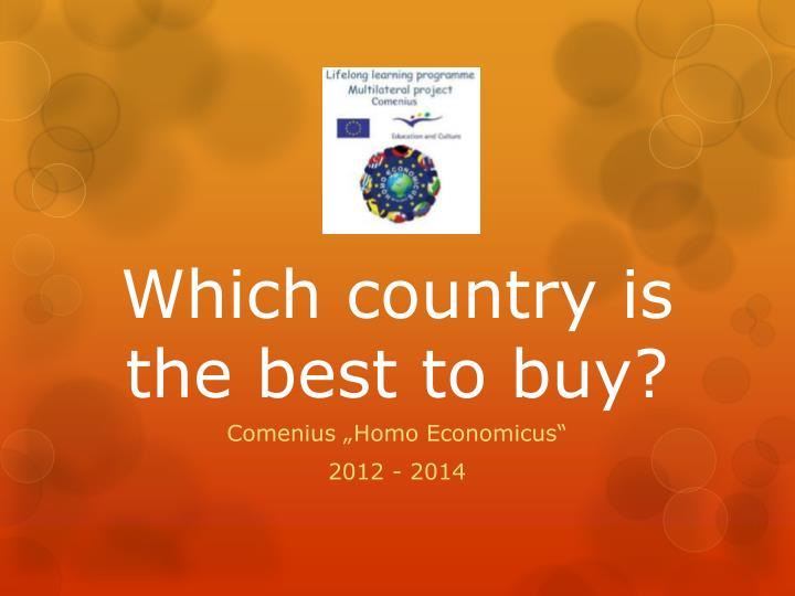 which country is the best to buy n.
