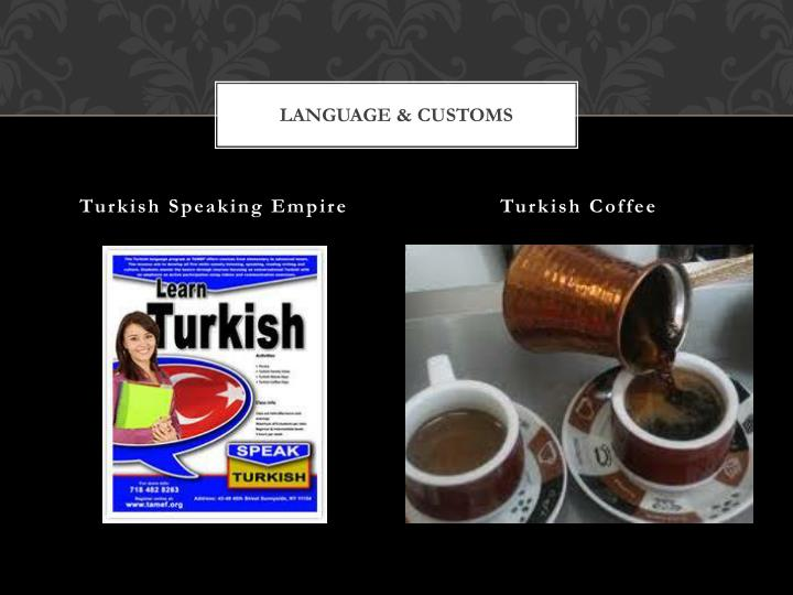 Language & Customs