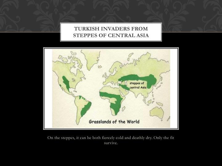 Turkish Invaders from Steppes of Central Asia