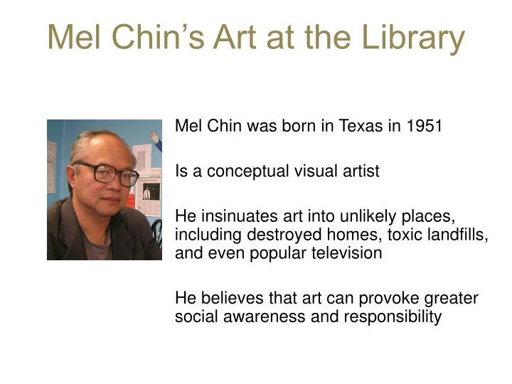 Mel Chin's Art at the Library