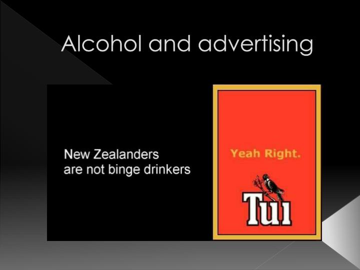 alcohol and advertising n.