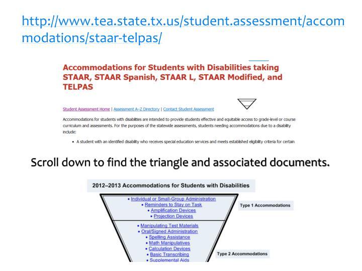 http://www.tea.state.tx.us/student.assessment/accommodations/staar-telpas/