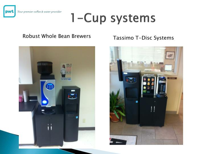 1-Cup systems