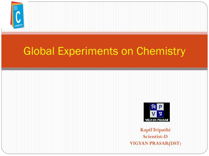 global experiments on chemistry n.