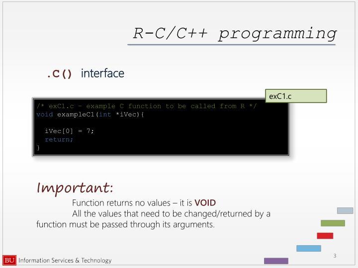 R c c programming1