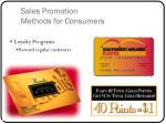 sales promotion methods for consumers2