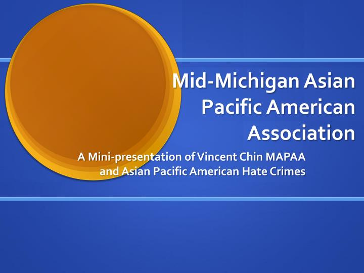 mid michigan asian pacific american association n.