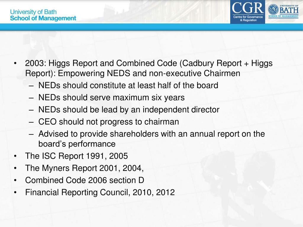Greenbury Report Download