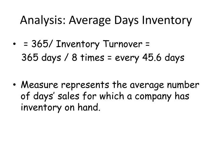 Analysis: Average