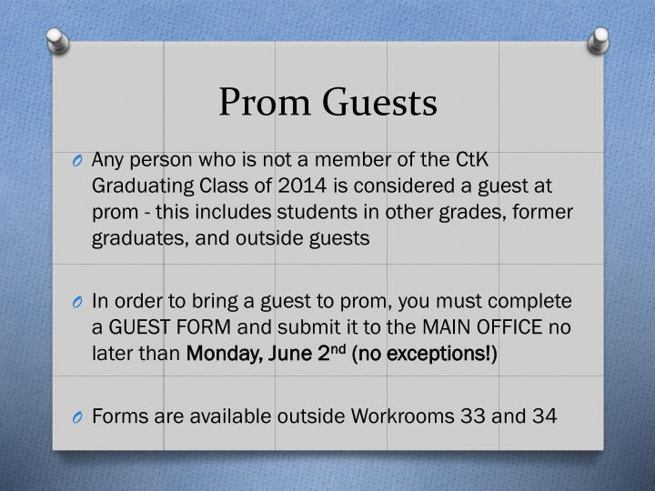 Prom Guests