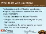 what to do with exceptions15