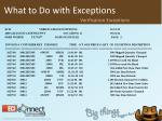 what to do with exceptions9