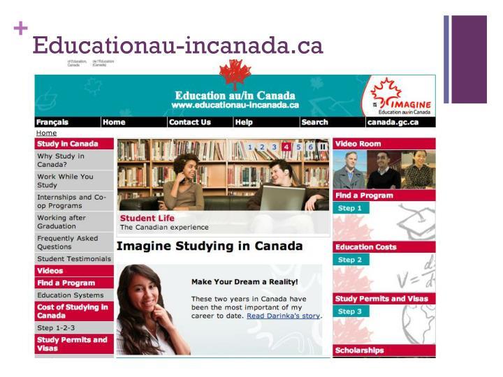 Educationau-incanada.ca