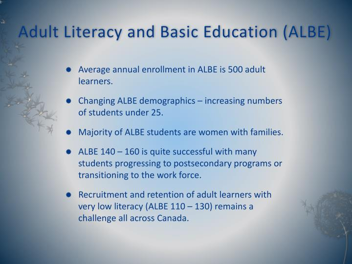Remarkable, rather Adult literacy recruitment and retention plan opinion
