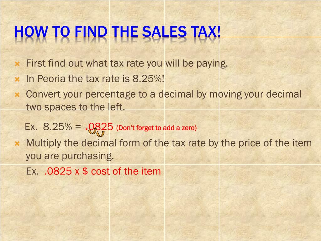 How To Figure Out Sales Tax >> Ppt Solving Problems Involving Discounts At Sales And