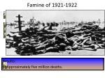 famine of 1921 1922