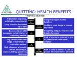 quitting health benefits