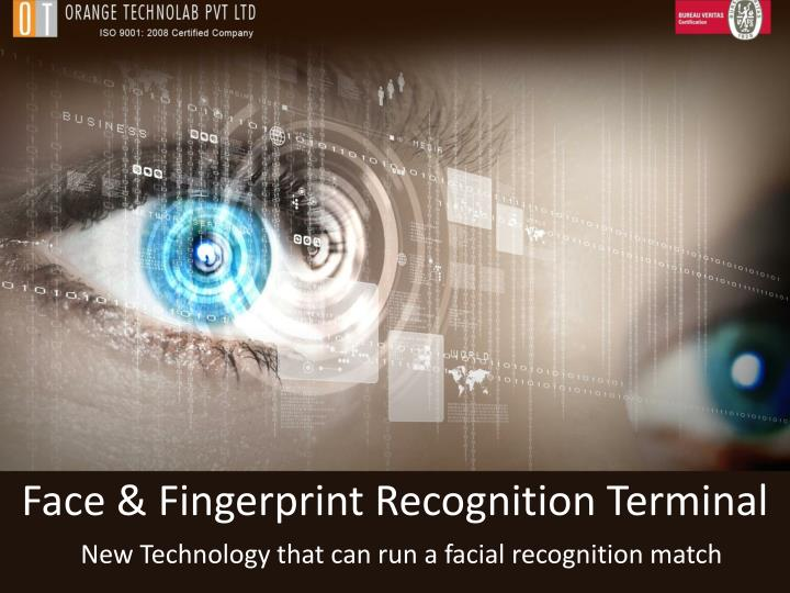 new technology that can run a facial recognition match n.
