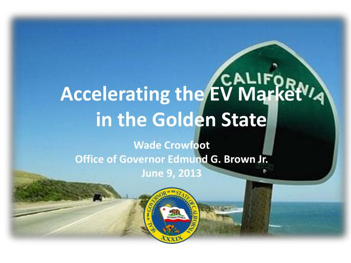 accelerating the ev market in the golden state n.