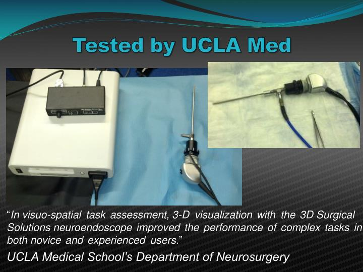 Tested by UCLA Med