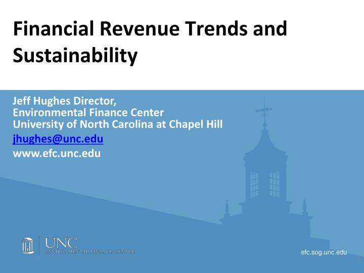 financial revenue trends and sustainability n.